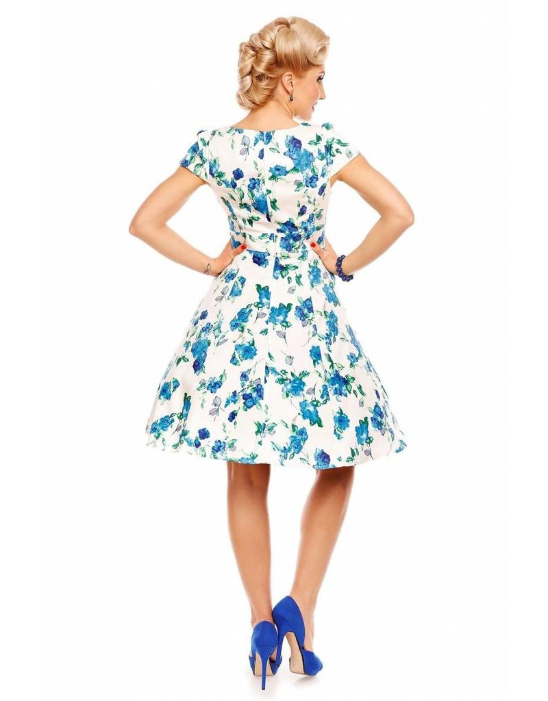 Dolly & Dotty Claudia Floral Fifties Style Jurk