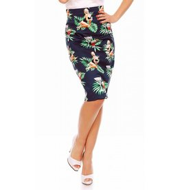 Dolly & Dotty Falda Chic Vintage Inspired Pencil Skirt