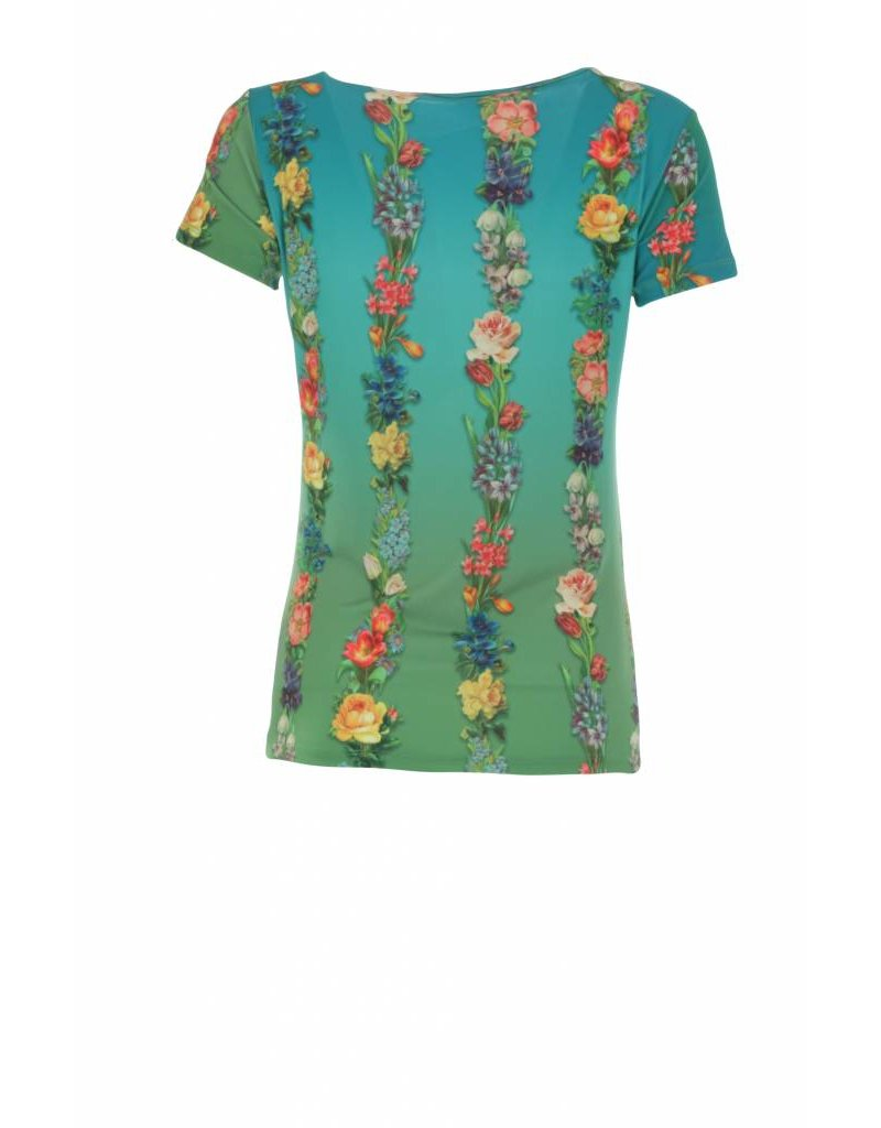 LaLaMour Shirt Garland - sea