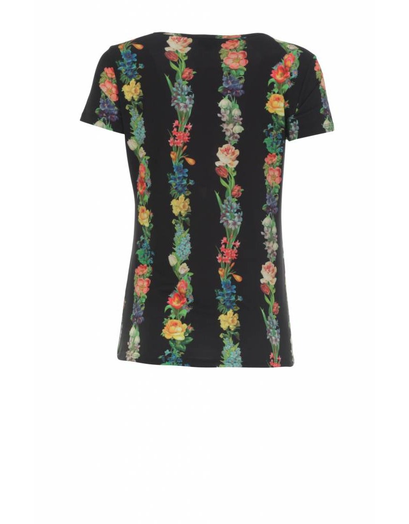 LaLaMour Shirt Garland - black