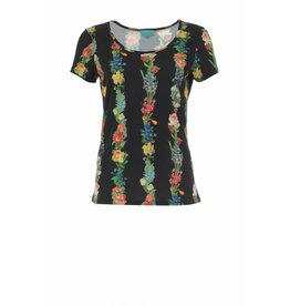 LaLaMour Shirt Garland - black