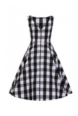 Collectif Jurk van Frances Gingham Swing