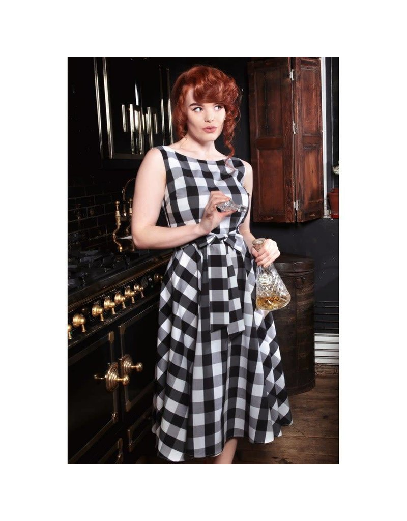 Collectif Frances Gingham Swing Dress