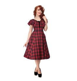 Collectif Arabella Ettrick Check Swing Dress