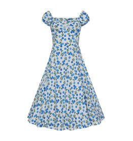 Collectif Dolores Blueberries Dress