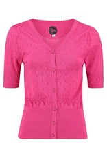 Tante Betsy Cardigan Shorty Pink