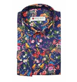 Wolff Blitz Floral Parrots shirt