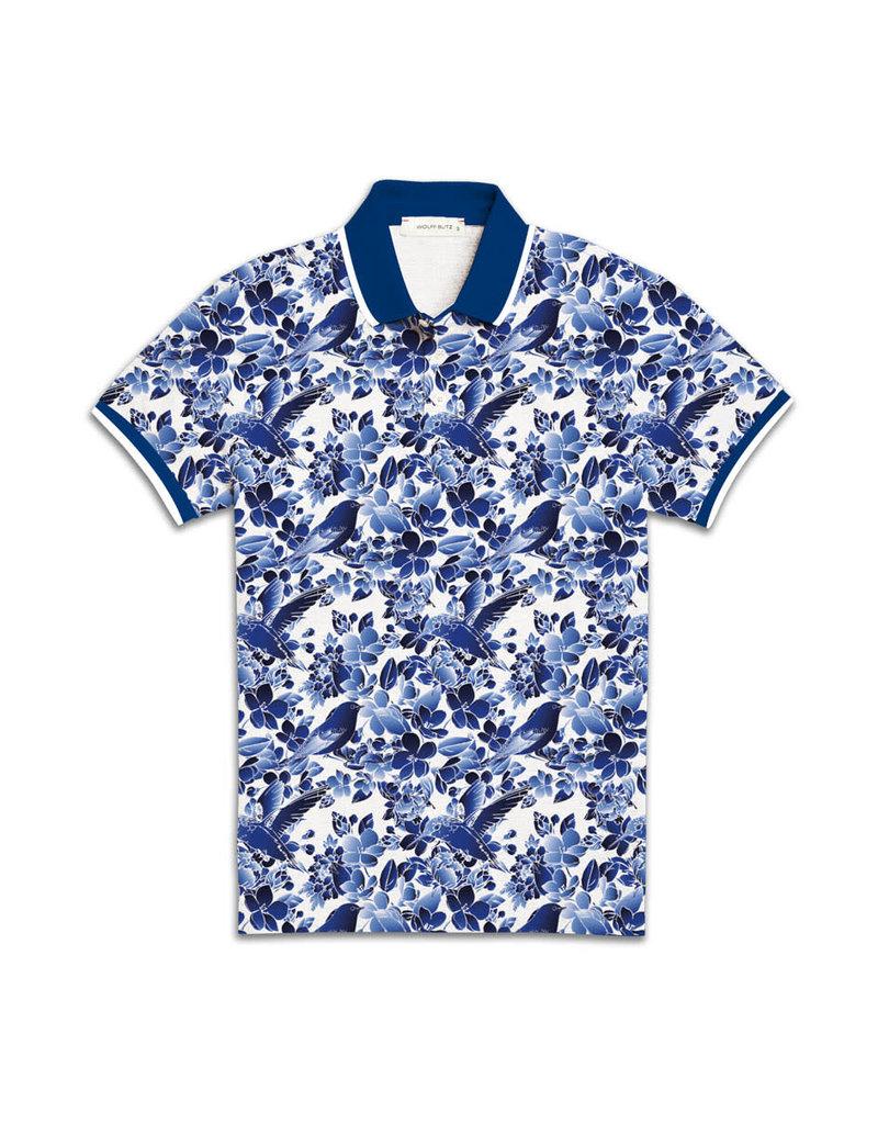 Wolff Blitz Delfts Blue Polo Shirt