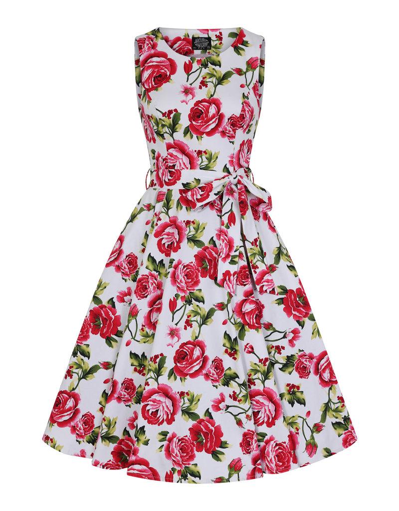 Hearts & Roses Sweet Rose Swing Dress