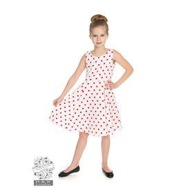 Hearts & Roses Cindy Polka Dot Swing Dress KIDS