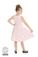 Hearts & Roses Cindy Polka Dot Swingjurk KIDS