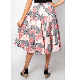 Voodoo Vixen Isabella Beach Umbrella Flare Skirt