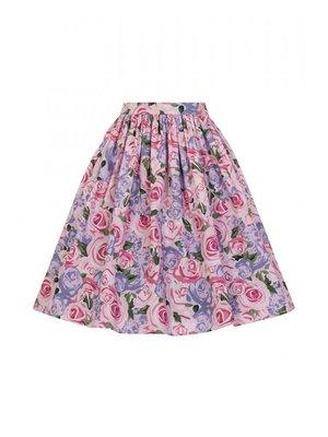 Collectif Jasmine Country Garden Swing Skirt