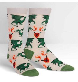 Sock it to me Beware of Dragons - Men's socks