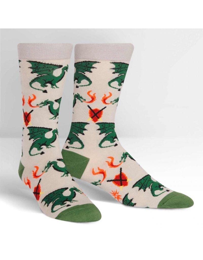 Sock it to me Beware of Dragons - Men's socks