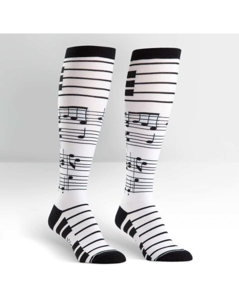 Sock it to me Foot Notes Knee high