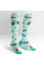 Sock it to me My Otter Half Knee High