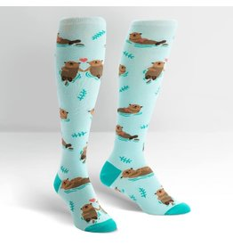 Sock it to me My Otter Half Knee High