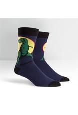 Sock it to me T-rex men's socks
