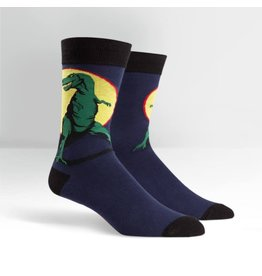 Sock it to me T-rex men's socks