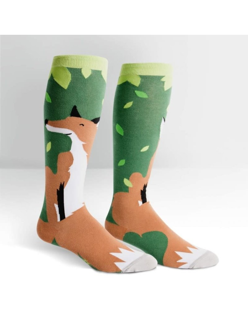 Sock it to me Foxy Knee High extra stretch
