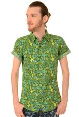 Run & Fly Blooming Cacti Short Sleeve Shirt