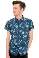 Run & Fly Space shirt short sleeves