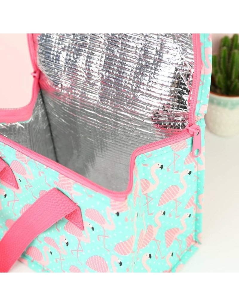 Sass & Belle Tropical Flamingo Lunch Bag