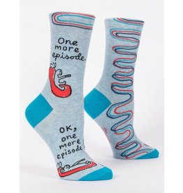 Blue Q One More Episode - men's socks