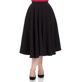 Voodoo Vixen Sandy black circle skirt