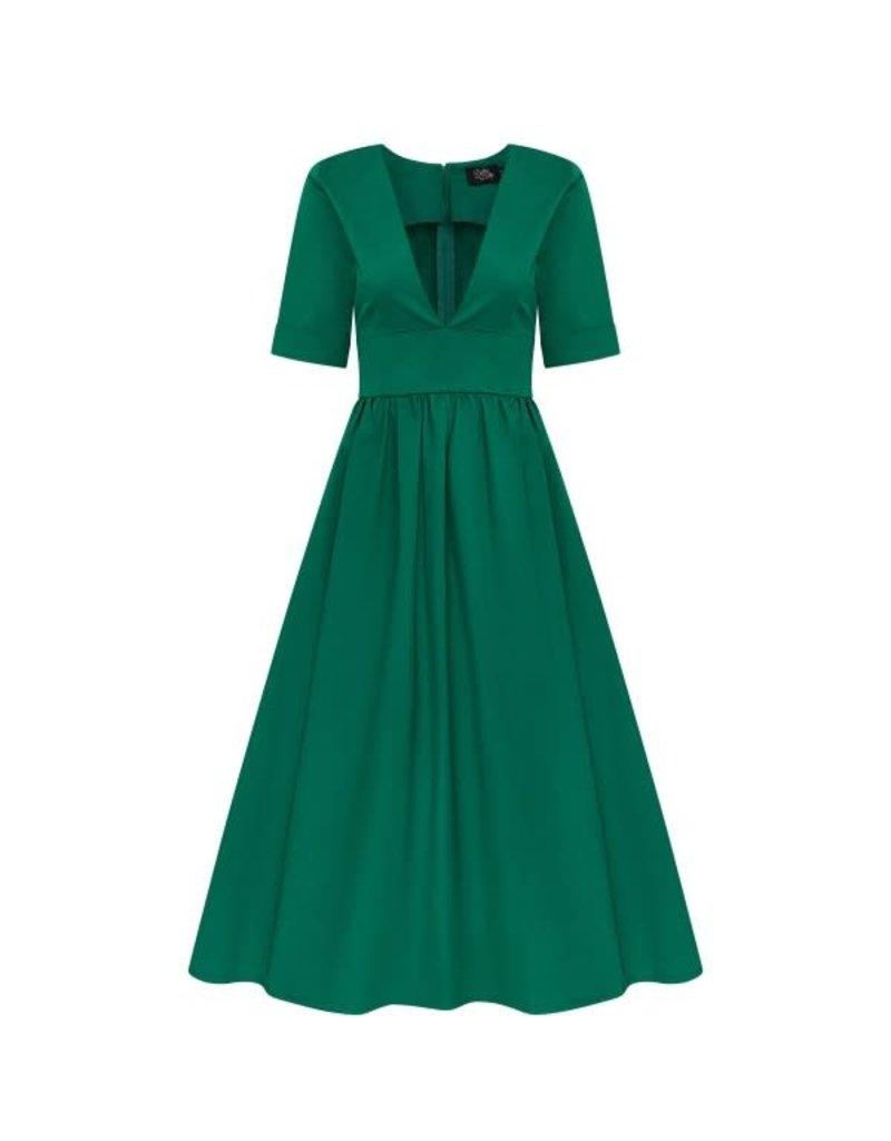 Dolly & Dotty Rosanne Dress in Apple Green