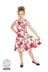 Hearts & Roses Sweet Rose Swing Dress KIDS