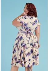 Lady V Lyra Dress - Purple Pansy