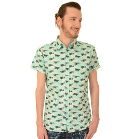 Run & Fly Aeroplane Shirt short sleeves