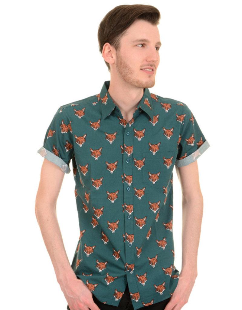 Run & Fly Fox Shirt short sleeves