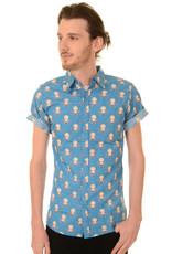 Octopus shirt short sleeves