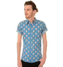 Octopus shirt short sleeves