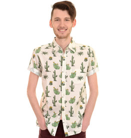 Run & Fly cactus shirt short sleeves