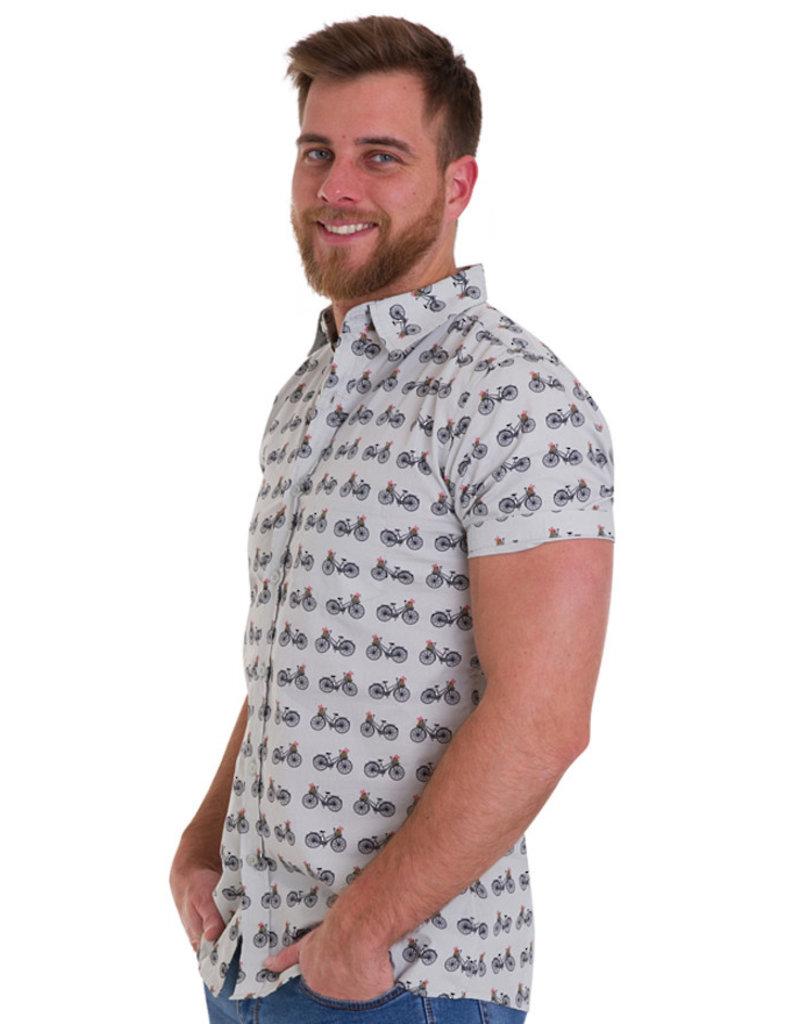 Run & Fly Bike shirt short sleeves