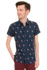 Run & Fly Flamingo shirt short sleeves