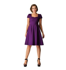Dolly & Dotty Claudia Dress in Purple