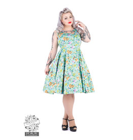 Hearts & Roses Ella Floral Swing Dress