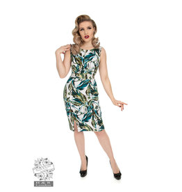 Hearts & Roses Felicity Floral Wiggle-jurk