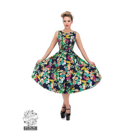 Hearts & Roses Eternal Floral Day Dress