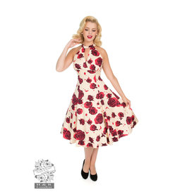 Hearts & Roses Lucinda Rose Swing-jurk