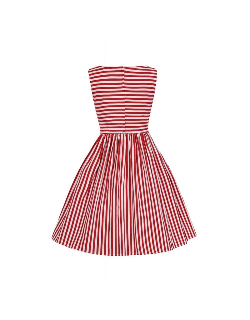 Collectif Candice Striped Swing Dress