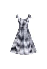 Collectif Monia Gingham swing jurk