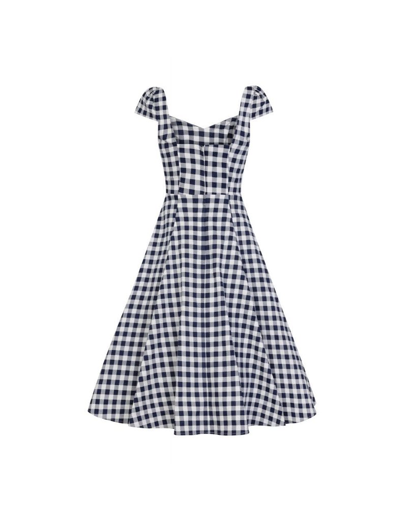 Collectif Monia Gingham Swing Dress