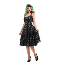 Collectif Janie Cactus Doll-jurk