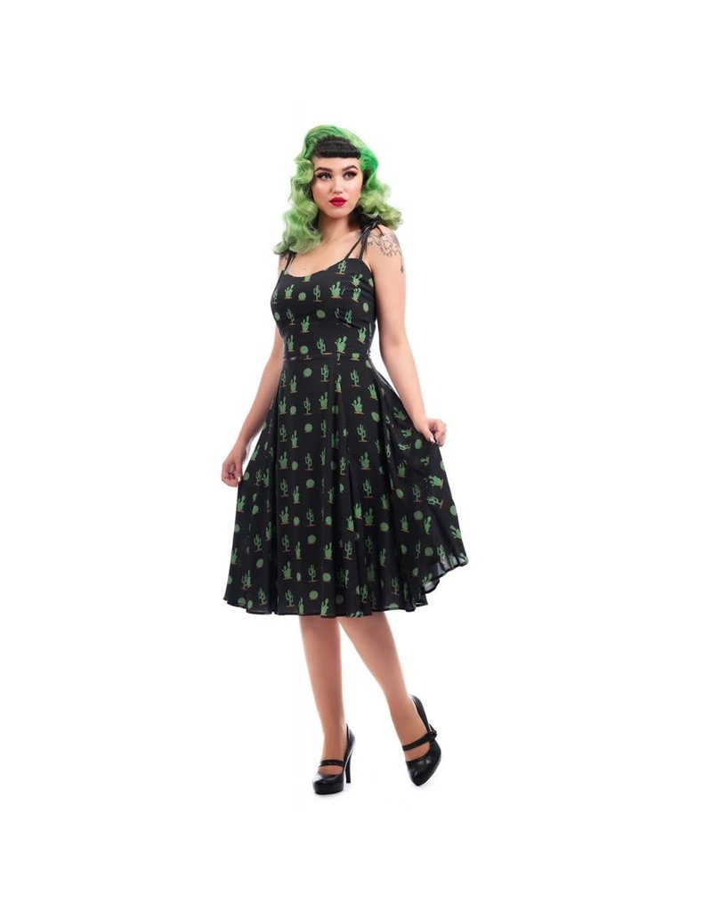 Collectif Janie Cactus Doll Dress